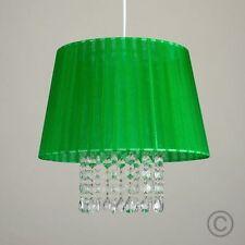 Plafonniers et lustres verts en acier pour la maison