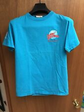 Vintage Mens Planet Hollywood Celebrity Edition Blue Small T Shirt Arnold