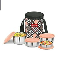 Milton Smart Meal Lunch Box,Set Of 4-Random Colour