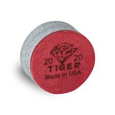1 TIGER Laminated Pool Billiard CUE TIP -  Soft - 13 or 14 mm