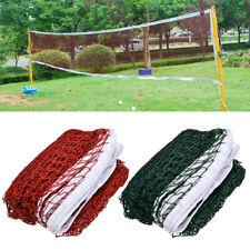 Standard Tennis Volleyball Badminton Net Mesh Outdoor Indoor Sports Training US