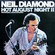 Neil Diamond Hot August Night II 2 x VINYL  Live In Concert