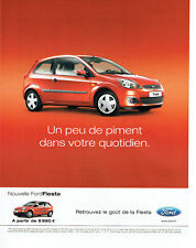 Publicité Advertising 127  2006  la nouvelle Ford Fiesta Fun