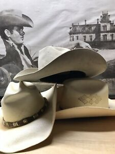 Lot Of 3 Texas Sweat - Vintage Mens Western Wear Cowboy Hats
