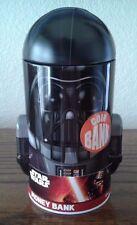Head Shaped Coin Bank - Star Wars - Darth Vader Tin Metal Box New Toys 348007-2