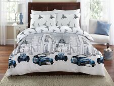 Kids Boys Girls Gifts Duvet Cover Set 100% Cotton Bedding Sets Double King Size