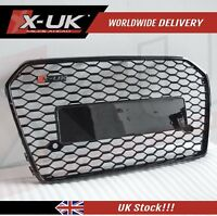 RS6 Style front grill gloss black for AUDI A6 / S6 C7 2015+