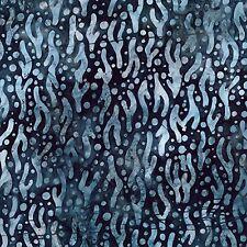 Robert Kaufman Batik Fabric MIDNIGHT AMD-17749-69, By The Half Yard, Quilting