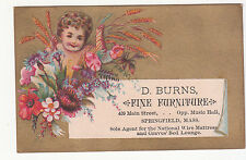 D Burns Furniture Springfield MA National Wire Matress Graves' Bed Lounge Autumn