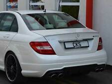 Painted Calcite White 650 Mercedes C-Class W204 Boot Lip Spoiler 07-14 AMG  UK