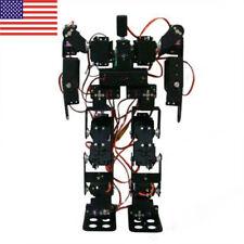 Educational 17DOF Biped Robotic Humanoid Robot Kit Servo Bracket Ball Bearing US
