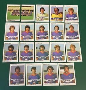 LOTTO DI 19 FIGURINE ALBUM CALCIATORI CALCIO FLASH 84 1983-84 FIORENTINA