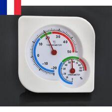 Thermomètre Hygromètre Analogique Mécanique Intérieur Extérieur Humidité