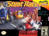 Stunt Race FX Super Nintendo Game SNES Used