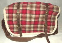 Nice Claire's Accessories Red Check Bag New With Tag (AM)