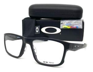 OAKLEY HYPERLINK OX8078-0152 Stain Black / Demo Lens 52mm Eyeglasses
