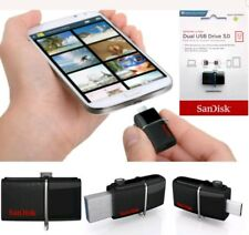 SanDisk 32GB Ultra Dual OTG USB 3.0 150MB/S Flash Drive Memory Stick For Android