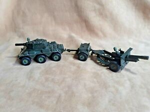Crescent 1/32 (Britains scale) British Saladin Armoured car + Limber + Gun Set