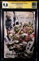 BATMAN TEENAGE MUTANT NINJA TURTLES #1 CGC SS 9.8 SHREDDER JOKER SPLINTER KRANG