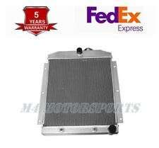 """21/"""" H X20/"""" W Core 3 Rows Aluminum Radiator for 47-54 Chevy 3100//3600 Truck L6"""