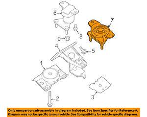NISSAN OEM-Engine Motor Mount/Torque Strut 11320ZZ50A