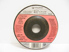 Black and Decker 44533 Fast Cut Industrial Grinding Wheel 4-1/2 x ¼ x 7/8