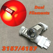 Front Turn Signal Light RED samsung 63 LED bulb T25 3157 3457 4157 FOR Dodge Ram