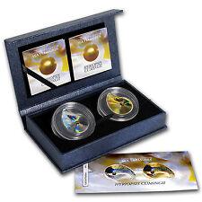 2014 Palau Proof Silver Oyster IV Hologram Hyriopsis Cumingii Set - SKU #88216