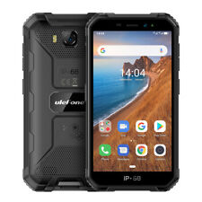 Rugged Cell Phone Waterproof Android 9.0 Quad Core Dual Sim Smartphone Unlocked