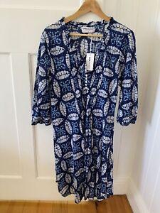 ONE SEASON Midi Poppy Dress, Morocco Print, Size L, BNWT