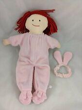 "Eden Madeline Plush Doll in Pink Bunny Pajamas 15"" 1994 Stuffed Animal"