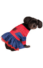 Spider Girl Spiderman Novelty Funny Dog Pet Fancy Dress Costume
