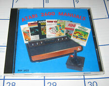 Atari 2600 game manual compilation