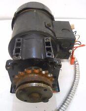 BISON AC GEAR MOTOR, 016-246-6102, HP 1/6, HZ 60/50, VOLTS 115/230