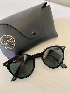 Ray-Ban Round Sunglasses Black