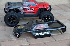 Custom Body Police Sheriff Style for ARRMA GRANITE 4X4 3S BLX 1/10 Cover Shell