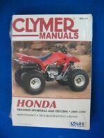 1981 1982 1983 1984 Clymer Honda ATC250R Service Manual A645