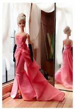 2016 Mattel Glam Gown Barbie Doll Gold Label  Silkstone Body- New-In Stock-DGW58