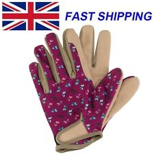 Briers Ladies Butterfly Smart Gardening Gloves Professional Padded Durable Style