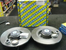 FOR RENAULT GRAND SCENIC 04> REAR BRAKE DISCS  ABS ASB