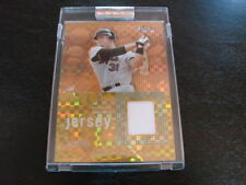 2004 Topps Finest Gold Refactor Mike Piazza Jersey Card (B101) New York Mets