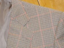 MOST RECENT ZEGNA Wool Multicolor Windowpane Puppytooth Plaid Jacket IT 54 ~ 44