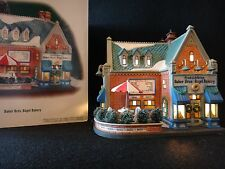 "Dept 56 Christmas in the City ""Baker Bros. Bagel Bakery"" retired 1990"