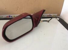 New Genuine OEM 2004-2006 Acura TL Left Power Side View Mirror Ruby Red Pearl