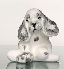 Adorable Cocker Spaniel-shaped Planter/Goldammer Ceramics VINTAGE!