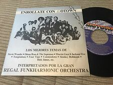 "STRUNG OUT ON MOTOWN SPANISH 7"" SINGLE PROMO SOUL FUNK COMMODORES GAYE WONDER"