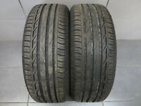 2x Sommerreifen Bridgestone Turanza T001 205/55 R16 91Q / DOT 4216 / 6,8 mm