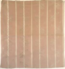 Beautiful 1930's French Woven Silk Striped Jacquard   (2677)