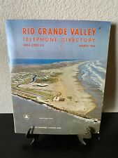 Vtg 1964 Rio Grande Valley Yellow Pages Texas Telephone Directory Phone Book