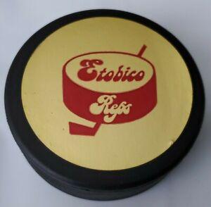 STICKER LOGO! = ESTBICO REPS VINTAGE OFFICIAL COOPER PUCK MADE IN CZECHOSLOVAKIA